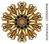 oriental mandala. vintage... | Shutterstock .eps vector #1320044948