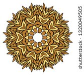 oriental mandala. vintage... | Shutterstock .eps vector #1320049505
