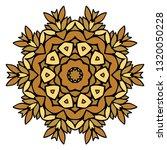oriental mandala. vintage... | Shutterstock .eps vector #1320050228