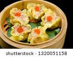 Asian Oriental Food Bamboo...