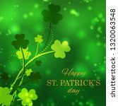st patrick's day greeting card...   Shutterstock .eps vector #1320063548