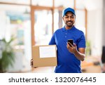 mail service  technology and... | Shutterstock . vector #1320076445