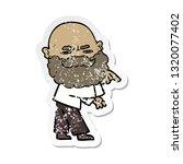 distressed sticker of a cartoon ...   Shutterstock .eps vector #1320077402
