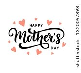 happy mothers day typography... | Shutterstock .eps vector #1320097898