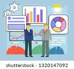 business deal  agreement ... | Shutterstock .eps vector #1320147092