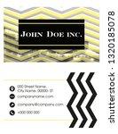 vector business card | Shutterstock .eps vector #1320185078