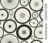 bicycle wheel seamless pattern. ... | Shutterstock .eps vector #1320227228