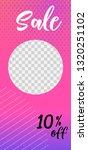 template of stories sale banner ...   Shutterstock .eps vector #1320251102