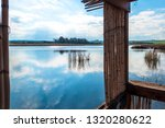 view of the lake from... | Shutterstock . vector #1320280622