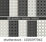 set of seamless geometric... | Shutterstock .eps vector #1320297362