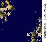 diagonal border from confetti... | Shutterstock .eps vector #1320298958