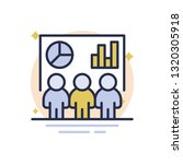 business analysis vector icon | Shutterstock .eps vector #1320305918