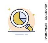 analysis business report vector ... | Shutterstock .eps vector #1320309905