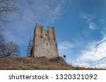 ruins of the mighty medievale... | Shutterstock . vector #1320321092