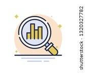 analysis vector icon | Shutterstock .eps vector #1320327782