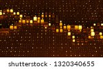 orange 3d render digital...   Shutterstock . vector #1320340655