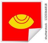 square peeling sticker cartoon... | Shutterstock .eps vector #1320366818