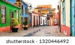 colorful beautiful  streets of... | Shutterstock . vector #1320446492