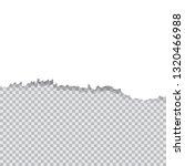 vector illustration white torn... | Shutterstock .eps vector #1320466988