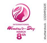 celebration international woman ... | Shutterstock .eps vector #1320492635