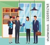 executive business cartoon | Shutterstock .eps vector #1320551765