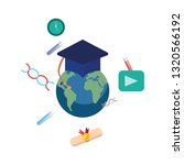 online education school | Shutterstock .eps vector #1320566192