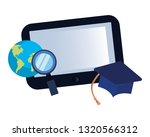 online education school | Shutterstock .eps vector #1320566312