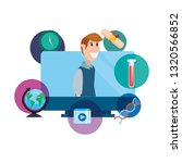 online education school | Shutterstock .eps vector #1320566852