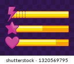 classic video game items bars   Shutterstock .eps vector #1320569795