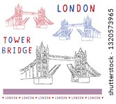 Sketchy London Tower Bridge...