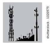 communicatios mast   Shutterstock .eps vector #1320575
