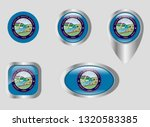 seal of the state of south... | Shutterstock .eps vector #1320583385