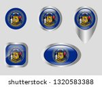 seal of the state of wisconsin | Shutterstock .eps vector #1320583388