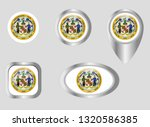 seal of the state of maryland | Shutterstock .eps vector #1320586385