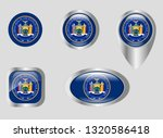 seal of the state of new york | Shutterstock .eps vector #1320586418