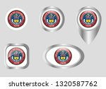 seal of the state of colorado | Shutterstock .eps vector #1320587762