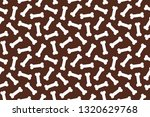 dog bone seamless pattern... | Shutterstock .eps vector #1320629768