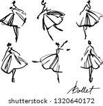 Set Of Graphic Hand Drawn...