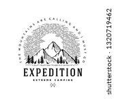 expedition logo emblem vector...   Shutterstock .eps vector #1320719462