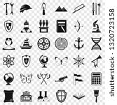 ancient thing icons set. simple ... | Shutterstock .eps vector #1320723158