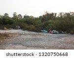 abandoned desolate waste... | Shutterstock . vector #1320750668