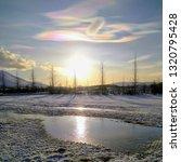 Rare Nacreous Clouds  East...