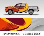 car decal company wrap design... | Shutterstock .eps vector #1320811565
