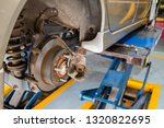 disc brake of the car during... | Shutterstock . vector #1320822695