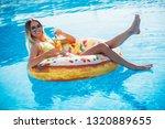 summer vacation. enjoying...   Shutterstock . vector #1320889655