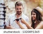 summer holidays shopping...   Shutterstock . vector #1320891365
