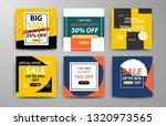 modern promotion web banner for ... | Shutterstock .eps vector #1320973565