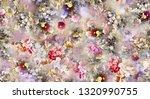 Watercolor Digital Flower...