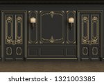 classic interior with copy... | Shutterstock . vector #1321003385
