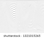 warped gray lines.overlay... | Shutterstock . vector #1321015265